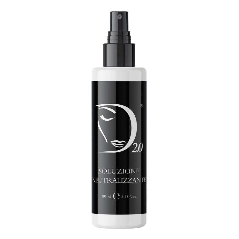 Soluzione neutralizzante, neutralizing post peeling solution Made in Italy Derma 2.0